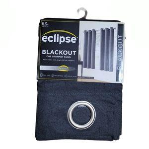 Eclipse Blackout Curtain Dark Gray  42X63
